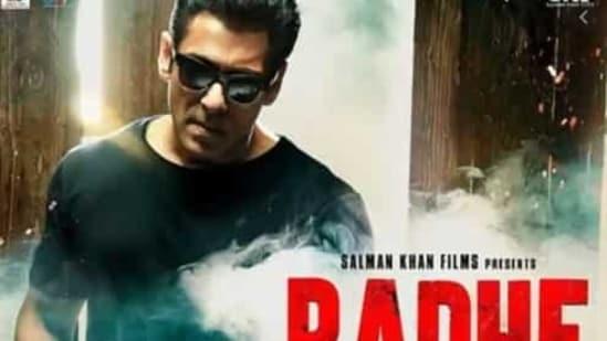 Radhe stars Salman Khan and Disha Patani.