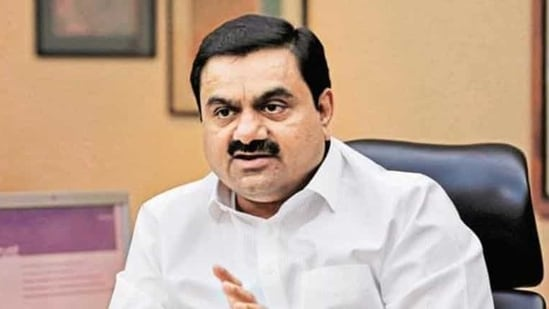 On Tuesday, the total market value of the six listed Adani Group companies stood at more than $107 billion, according to BSE data.(Reuters)