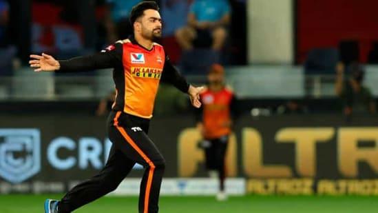File photo of Sunrisers Hyderabad's Rashid Khan(IPL/Twitter)