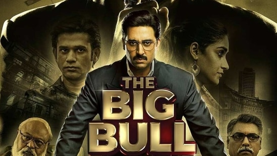 Abhishek Bachchan plays a character inspired by Harshad Mehta in The Big Bull.