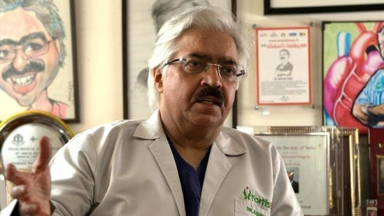 """""""All those who recovered from Covid-19 should get at least an Electrocardiogram or ECG and an echocardiogram (ECHO) done, especially ECHO, as some people have a weak heart,"""" Seth said. (Saumya Khandelwal/HT file photo)"""