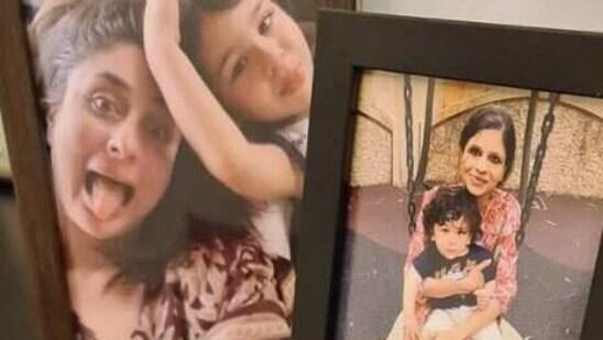 Saba Ali Khan has shared a fresh set of family pictures with Taimur and Kareena Kapoor Khan.