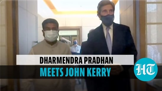 Dharmendra Pradhan, US special envoy John Kerry discuss energy & other issues