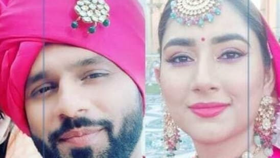 Rahul Vaidya and Disha Parmar team up for a song.