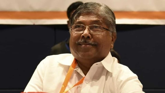 Maharashtra BJP chief Chandrakant Patil. (HT FILE)