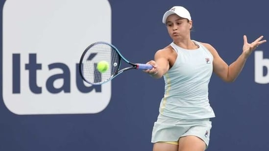 Ashleigh Barty of Australia(USA TODAY Sports)