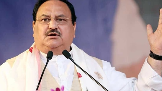 BJP president J P Nadda said the shooting on fishermen has stopped after Prime Minister Modi became the PM.(ANI Photo)