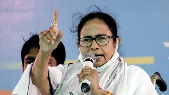 West Bengal Chief Minister Mamata Banerjee.(ANI)