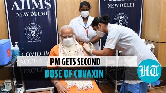 PM Modi receives second dose of Covid vaccine; nurses share experience