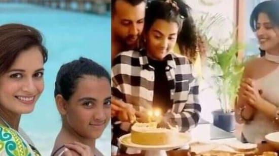 Dia Mirza celebrates birthday of stepdaughter Samaira.
