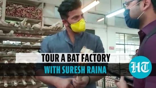 Tour a bat factory with Suresh Raina