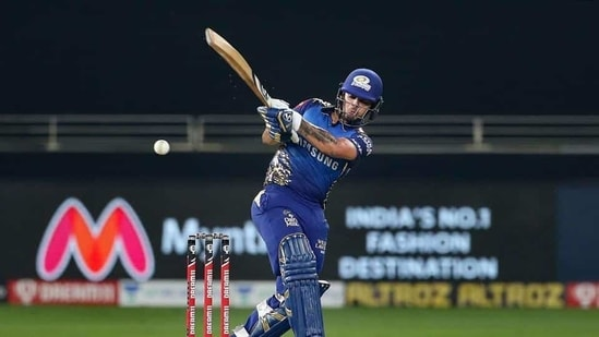 Mumbai Indians batsman Ishan Kishan(PTI)