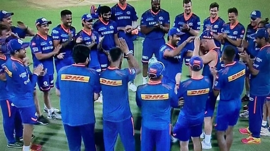 Who will open the batting with Rohit Sharma for Mumbai Indians?(Screenshot)
