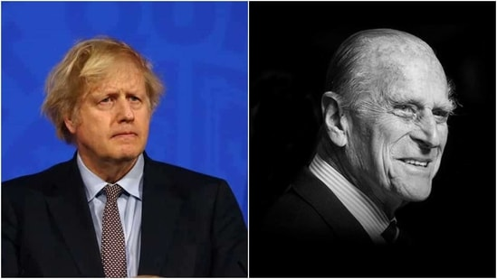 UK PM Boris Johnson hailed Prince Philip for his steadfast support to Queen Elizabeth II, Britain's longest-serving monarch.(Reuters, Twitter/@RoyalFamily)