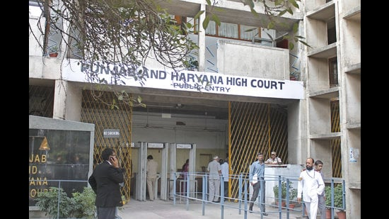 Punjab and Haryana High Court building in Chandigarh (HT file)