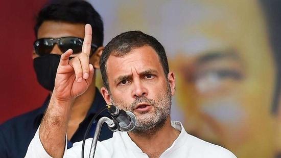 Congress leader Rahul Gandhi. (File photo)(HT_PRINT)