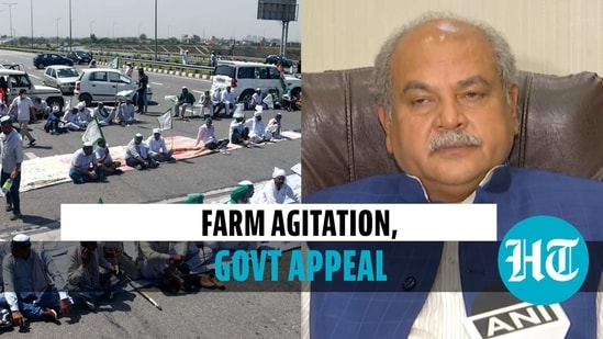 Tomar cited Covid surge to appeal to farmers to stop their protest (ANI)