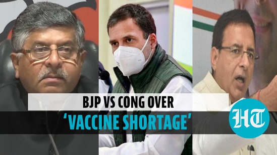 BJP counters Rahul Gandhi over 'vaccine shortage' claim, Congress fires back