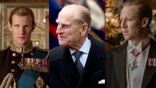 Actors Matt Smith and Tobias Menzies played the role of Prince Philip in The Crown.