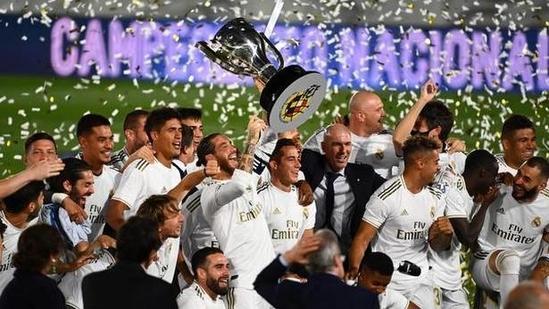 Real Madrid celebrate.(File)