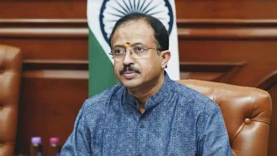 """""""Jaleel is privy to information about some act in which Chief Minister is involved,"""" V Muraleedharan alleged.(Twitter/@VMBJP)"""