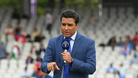 File image of Sanjay Manjrekar.(ICC via Getty Images)