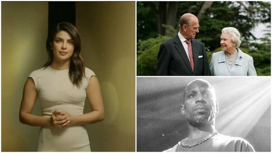 Priyanka Chopra has shared messaged on the deaths of Prince Philip and rapper DMX.
