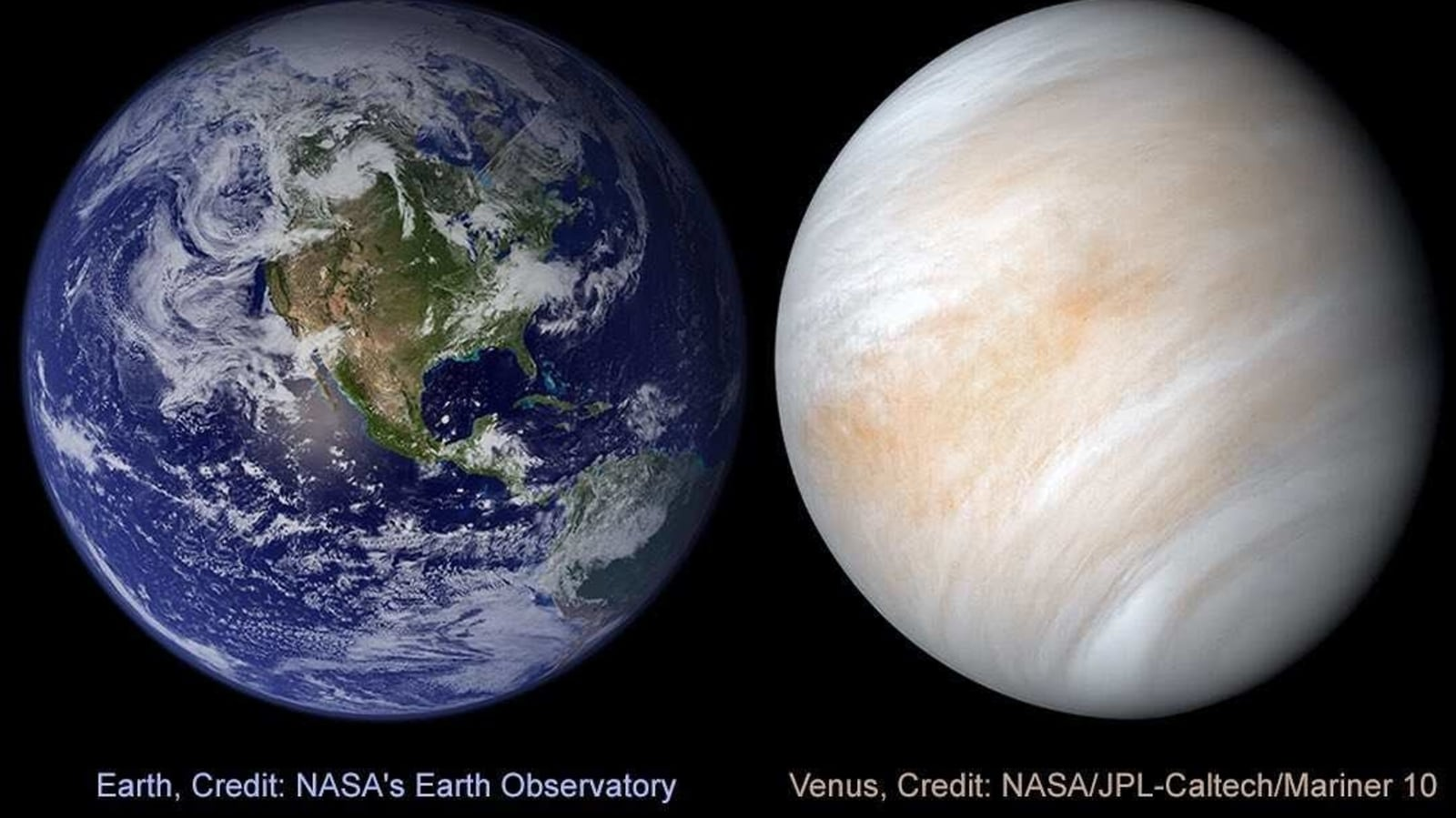Nasa posts interesting facts about 'Earth's sister planet' Venus. Seen it yet? - Hindustan Times