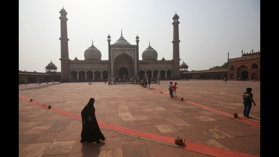 Area around Jama Masjid in Old Delhi had been a favourite among foodies in Delhi-NCR during the month of Ramzan, in pre-Covid times. (Photo: Amal KS/HT (For representational purposes only))