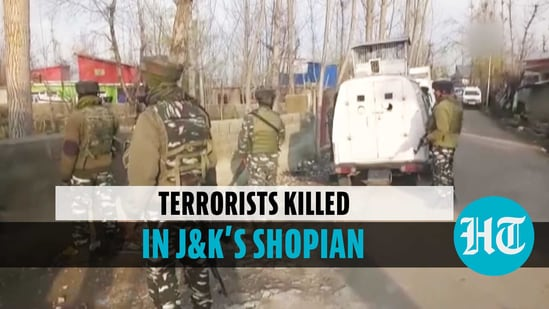 3 terrorists gunned down in encounter with security forces in J&K's Shopian