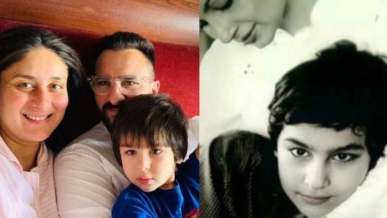 Saba Ali Khan shares a picture of a young Saif Ali Khan.