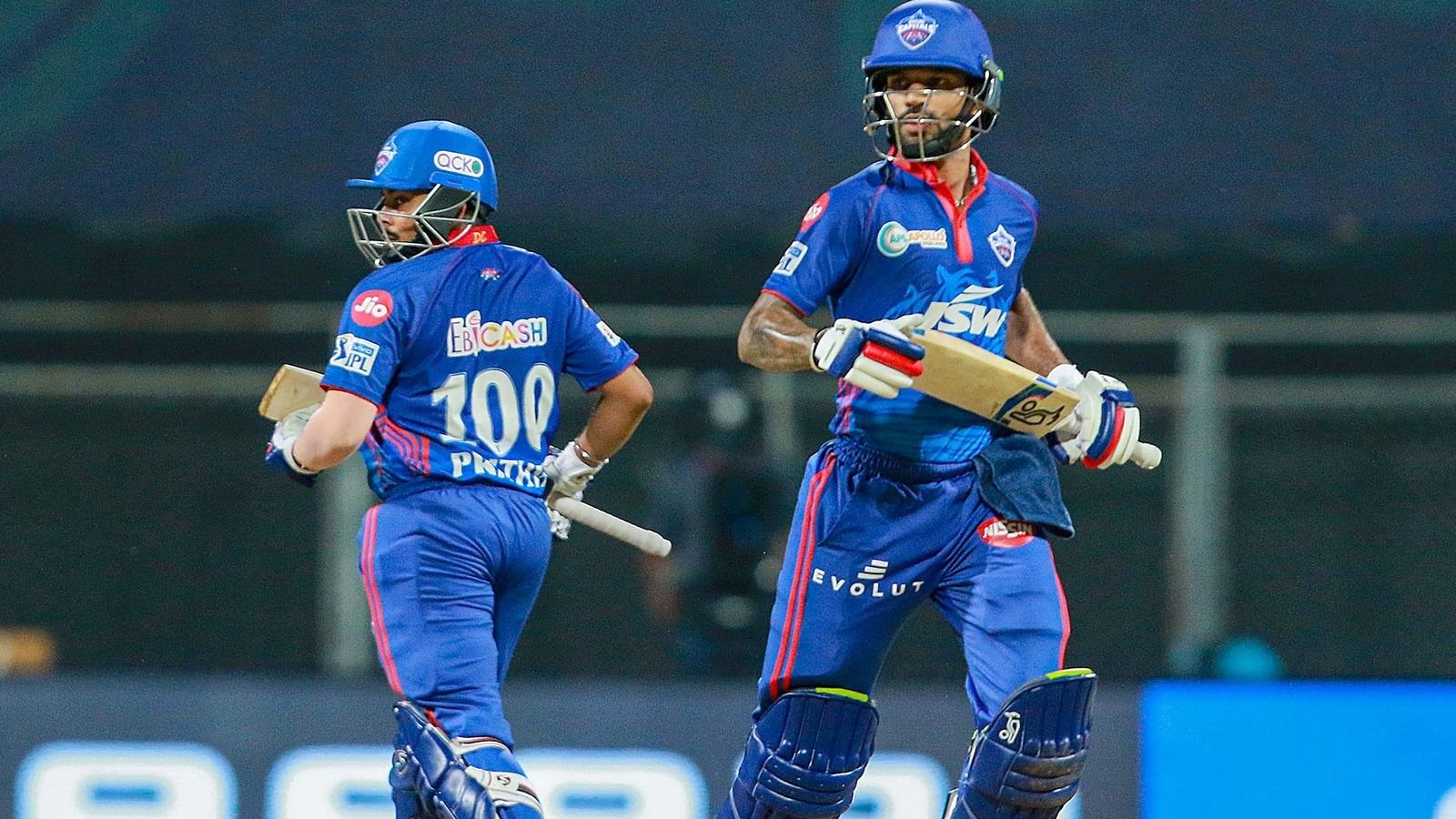 IPL 2021: He has come back as a champion: DC's Shikhar Dhawan praises Prithvi Shaw's show against CSK | Cricket - Hindustan Times