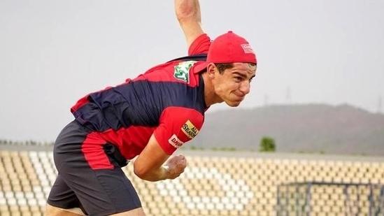 Moises Henriques in training(Twitter/PBKS)