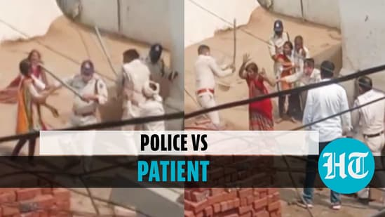 Cops fight with Covid patient's family after alleged violence with medics
