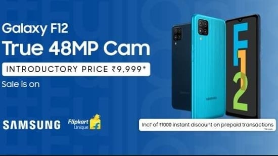 Samsung F12 sale is on! Go #FullonFab with its True 48MP quad cam & 90Hz display