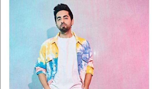 Ayushman Khurana in a tie and dye co-ord set (Instagram)