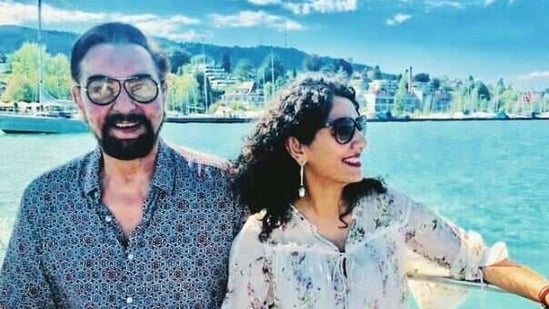 Kabir Bedi and Parveen Dusanj have been together for 15 years.