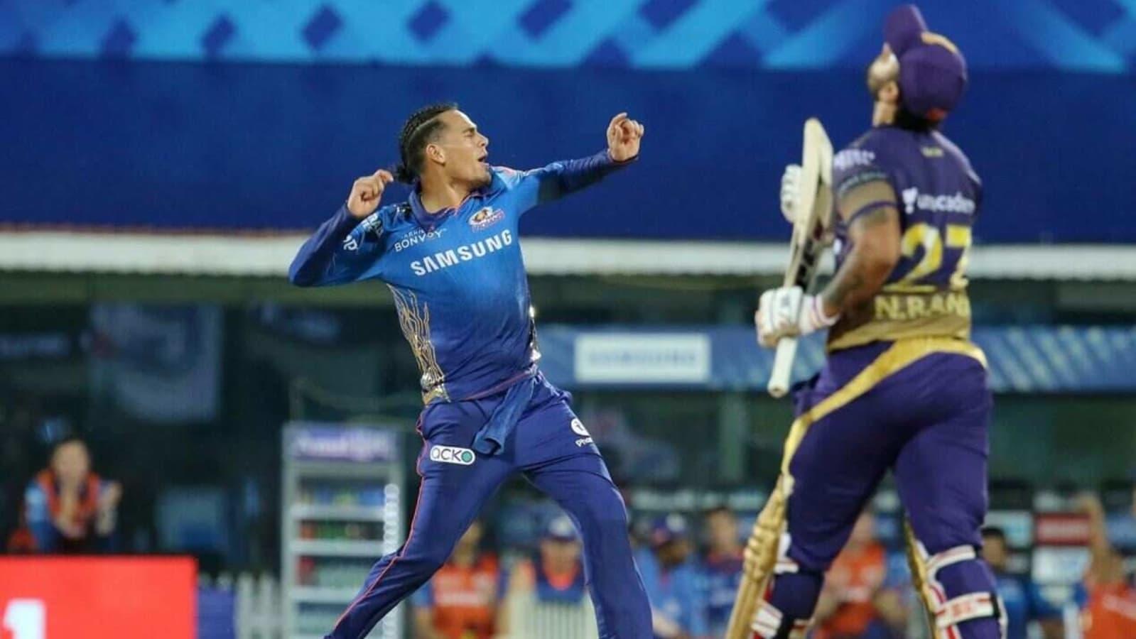 IPL 2021 KKR vs MI Highlights: Mumbai Indians beat Kolkata Knight Riders by 10 runs | Hindustan Times