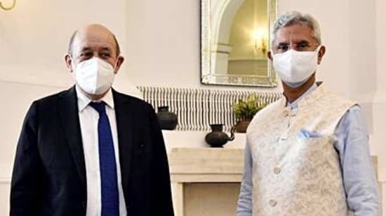 S Jaishankar held up India's ability to manufacture a range of Covid-19 vaccines as an example of global cooperation. (ANI Photo)