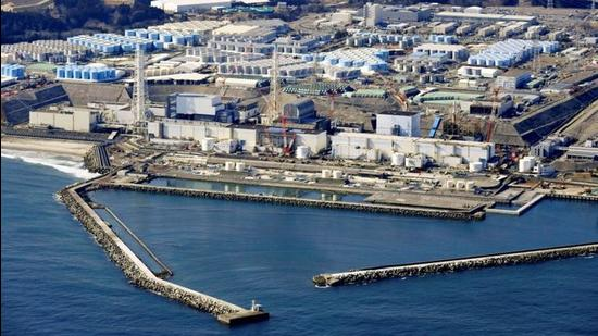 An aerial view shows storage tanks for treated water at the tsunami-crippled Fukushima Daiichi nuclear power plant in Okuma town, Fukushima prefecture, Japan. (REUTERS)