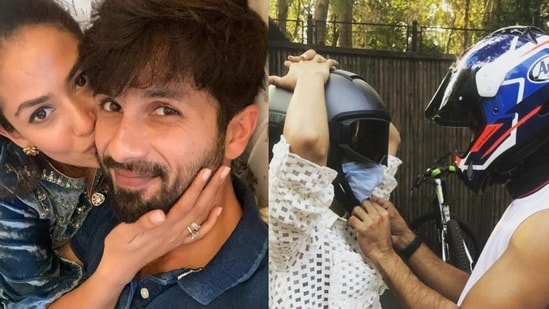 Mira Rajput pokes fun at Shahid Kapoor with her recent Instagram post.