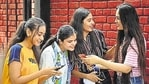 The CBSE on Wednesday cancelled class 10 board exams and postponed class 12 exams following surge in coronavirus cases.(Sanchit Khanna/HT File)