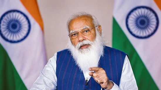 At Wednesday's meeting, the Prime Minister suggested that the governors can actively engage to ensure that social institutions collaborate seamlessly with the state governments towards micro-containment.(MINT_PRINT)