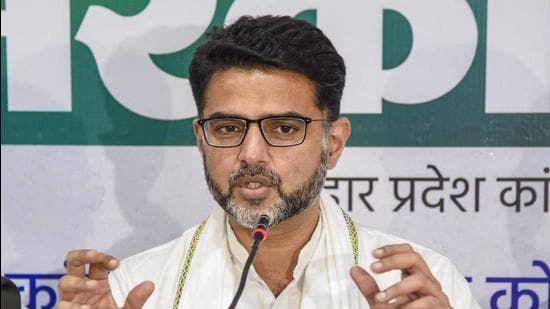 Congress leader Sachin Pilot. (File photo)