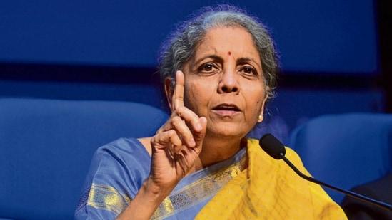 Finance minister Nirmala Sitharaman.mint(MINT_PRINT)