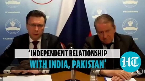 'Russia has independent ties with India and Pakistan'