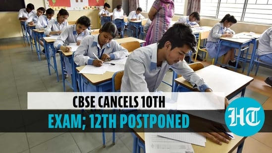 CBSE Board Exams 2021 cancelled for Class 10; postponed for Class 12(File photo)