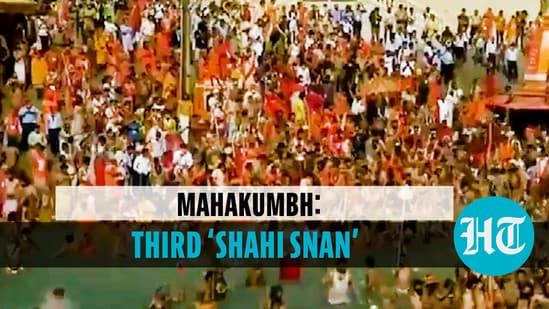 Lakhs of devotees participate in third 'Shahi Snan' at Haridwar