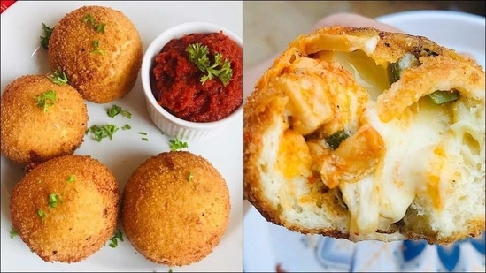 Recipe: This Ramadan, let a large batch of Pizza Doughnuts be the star at iftar(Instagram/cookingwithrida)