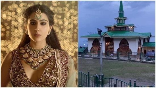 Sara Ali Khan shared a video of the evening prayers in Baba Reshi near Gulmarg.